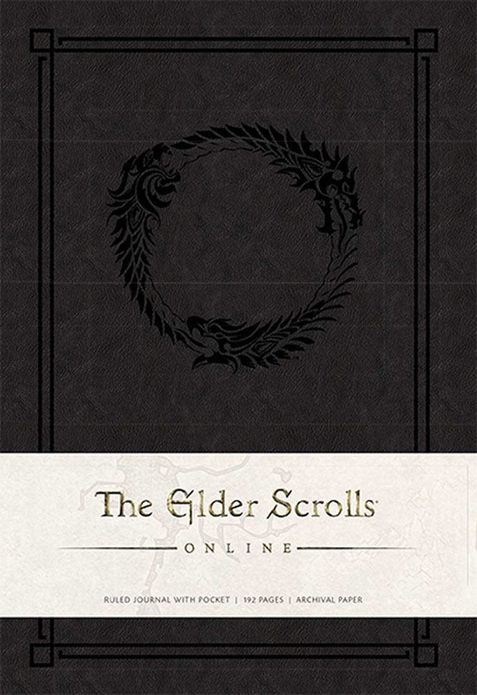 The Elder Scrolls Online Hardcover Ruled Journal Logo