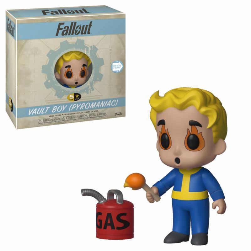 Fallout 5-Star Vinyl Figure Vault Boy (Pyromaniac) 8 cm