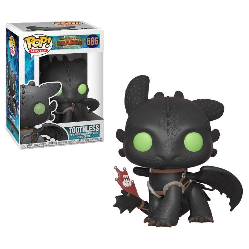 How to Train Your Dragon 3 POP! Vinyl Figure Toothless 9 cm