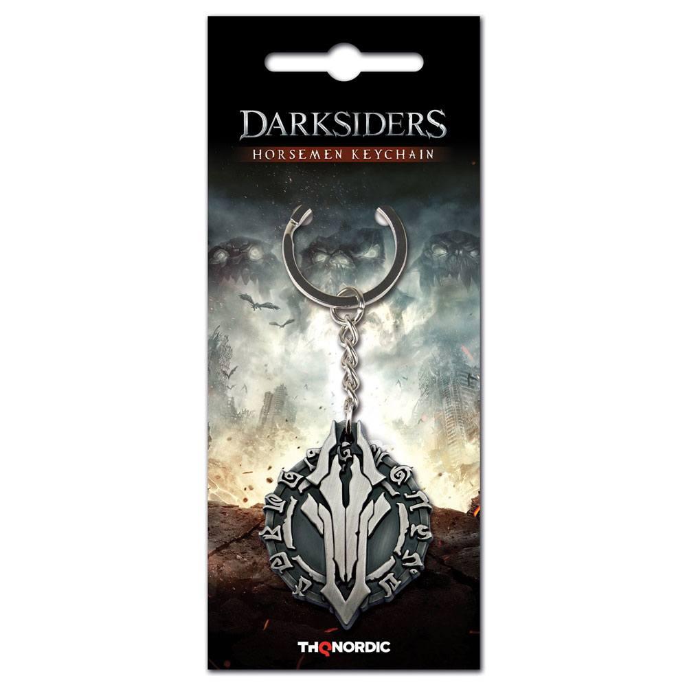 Darksiders III Metal Keychain Horseman