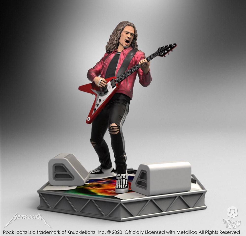 Metallica Rock Iconz Statue Kirk Hammett Limited Edition 22 cm