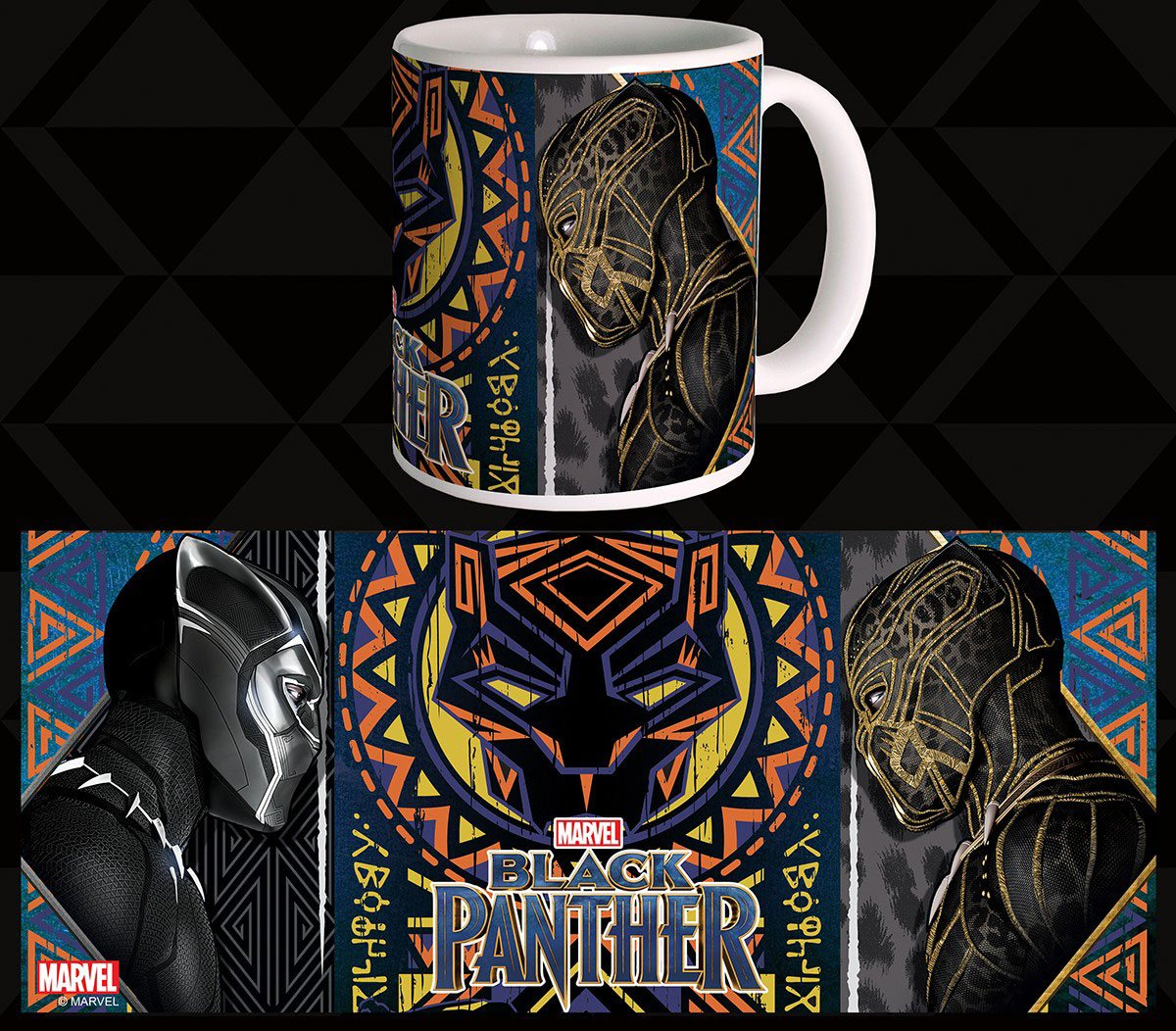 Black Panther Mug Battle