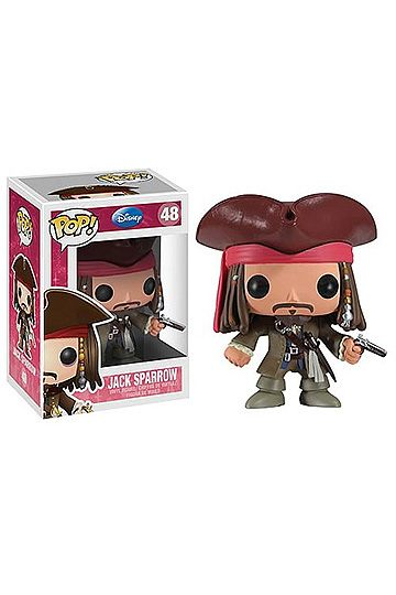 Pirates of the Caribbean POP! Vinyl Figure Jack Sparrow 10 cm