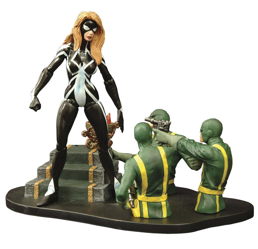 Marvel Select Action Figure Ultimate Arachne 18 cm