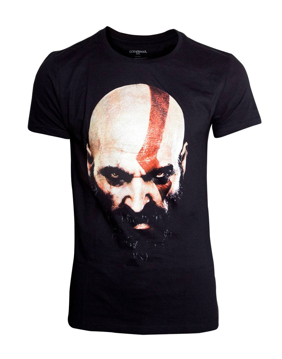 God Of War T-Shirt Kratos Face Size M
