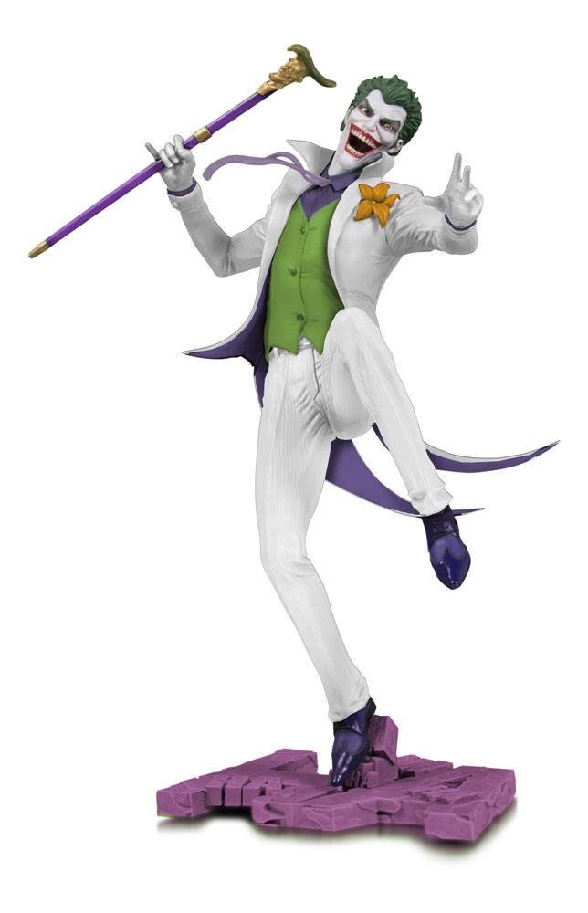 DC Core PVC Statue The Joker White Variant heo EU Exclusive 28 cm