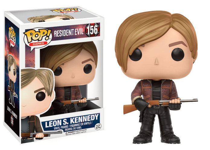 Resident Evil POP! Games Vinyl Figure Leon S. Kennedy 9 cm