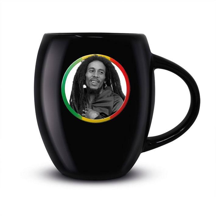 Bob Marley Oval Mug Tricolour Circle
