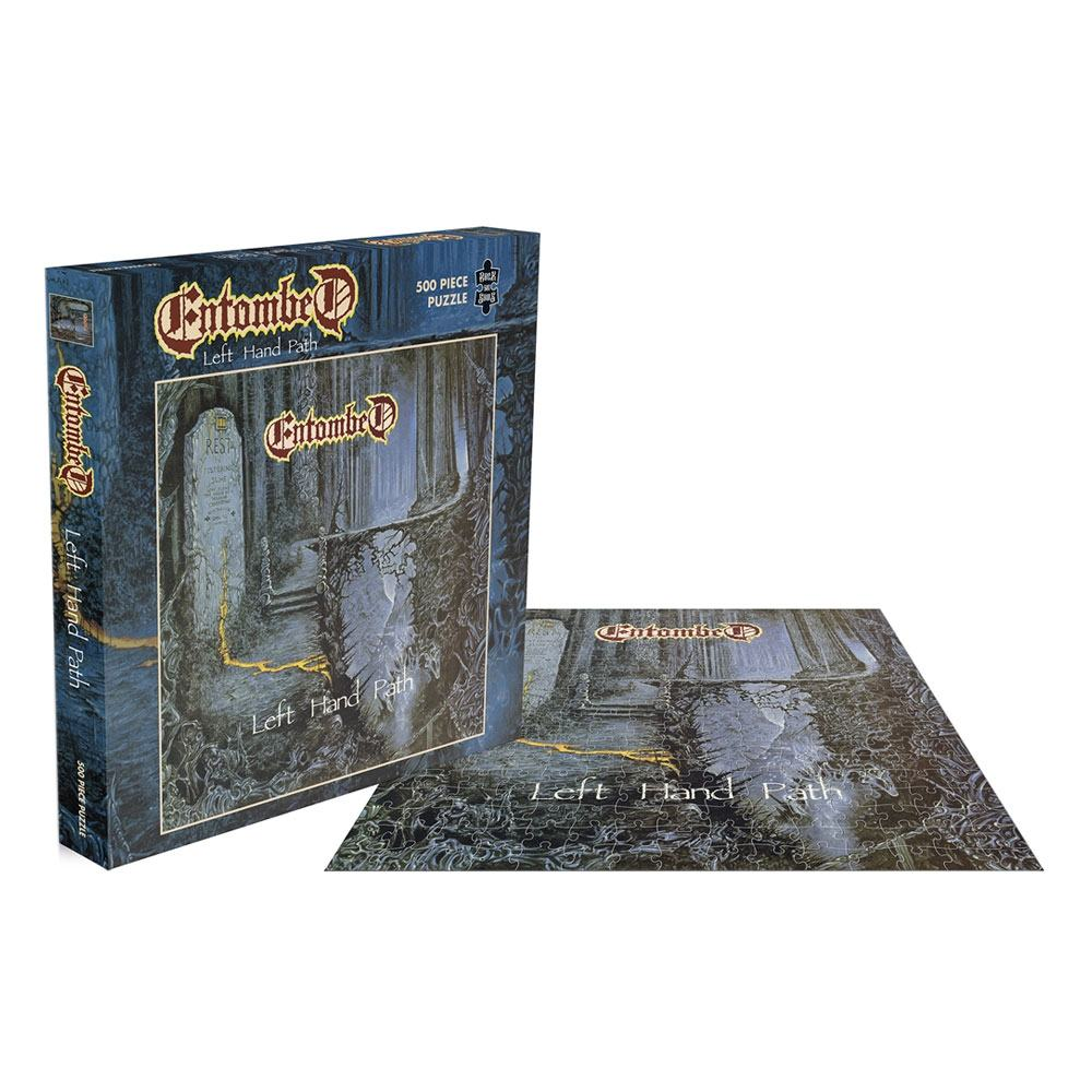 Entombed Rock Saws Jigsaw Puzzle Left Hand Path (500 pieces)