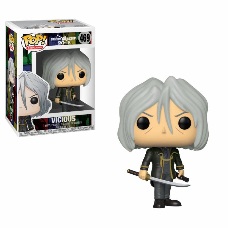Cowboy Bebop POP! Animation Vinyl Figure Vicious 9 cm