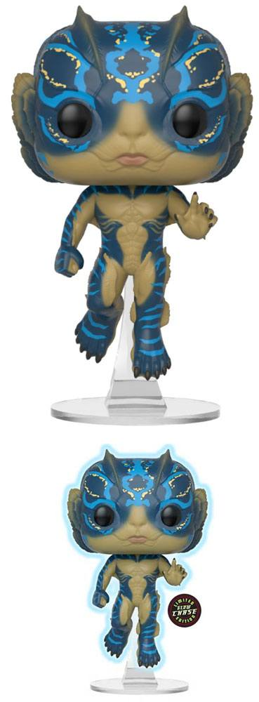 The Shape of Water POP! Movies Vinyl Figures Amphibian Man 9 cm Assortment (6)
