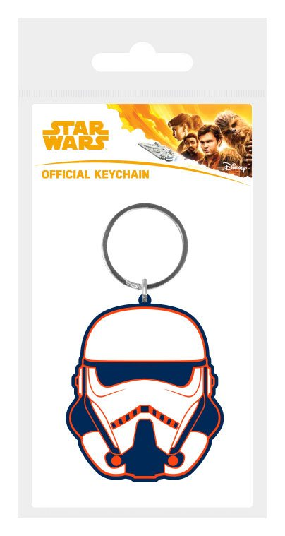 Star Wars Solo Rubber Keychain Trooper 6 cm