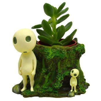 Princess Mononoke Plant Pot Kodama's Forest 8 cm