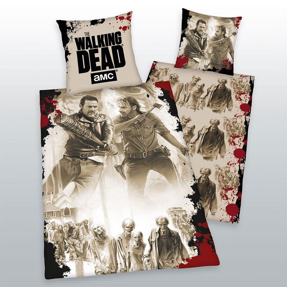 Walking Dead Duvet Set Tag Team 135 x 200 cm / 80 x 80 cm