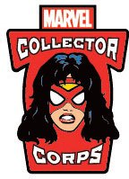 Marvel Comics POP! Pin Badge Collector Corps Spider-Woman