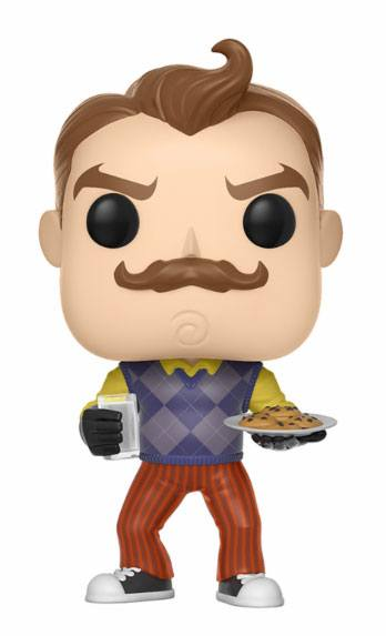 Hello Neighbor POP! Games Vinyl Figure Neighbor with Milk & Cookies 9 cm