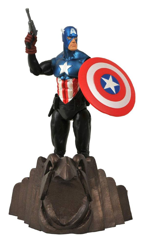 Marvel Select Action Figure Captain America 18 cm