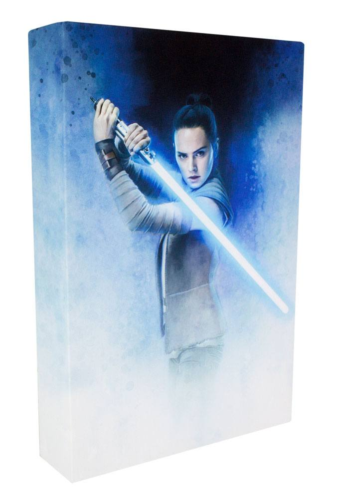 Star Wars Episode VIII 3D Luminart Rey 30 cm