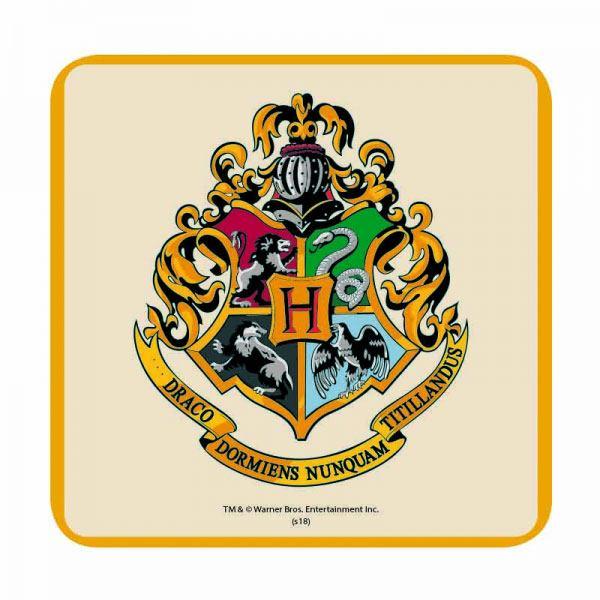 Harry Potter Coaster Hogwarts Crest Case (6)