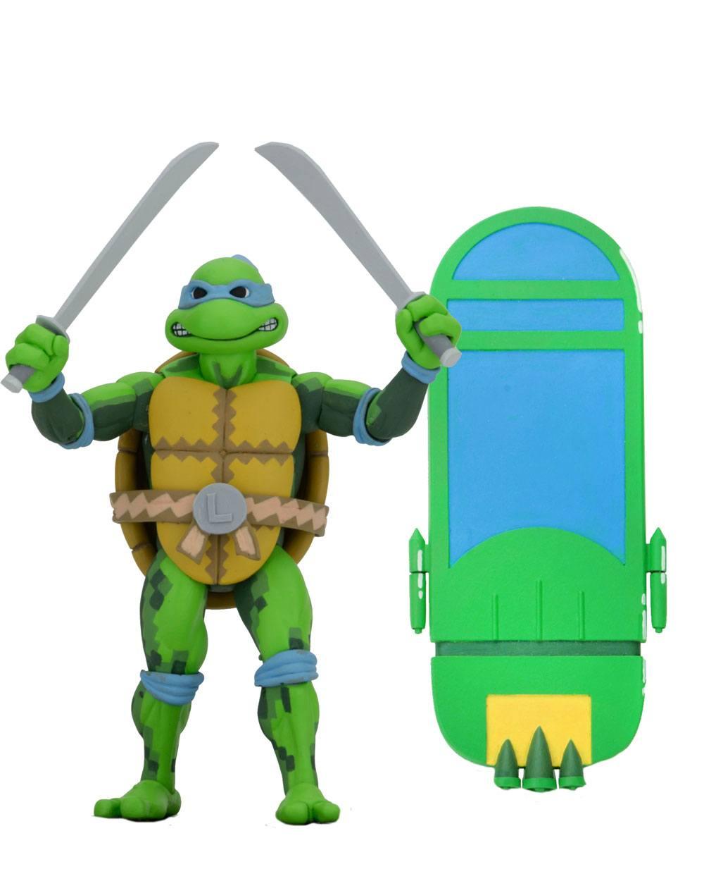 Teenage Mutant Ninja Turtles: Turtles in Time Action Figure Series 1 Leonardo 18 cm