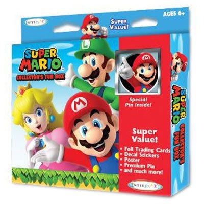 Super Mario Collector's Fun Box with pin *English Version*
