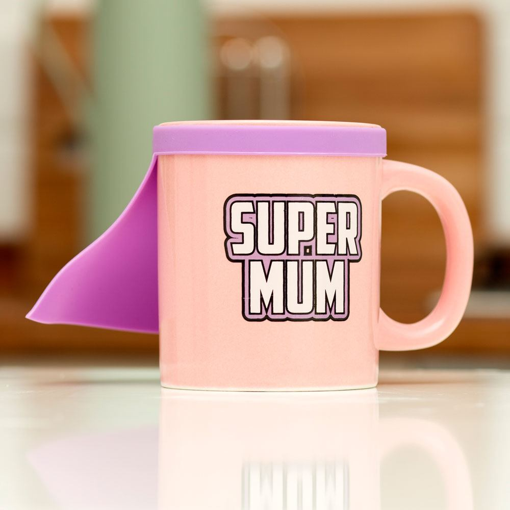Super Mum Mug with cape