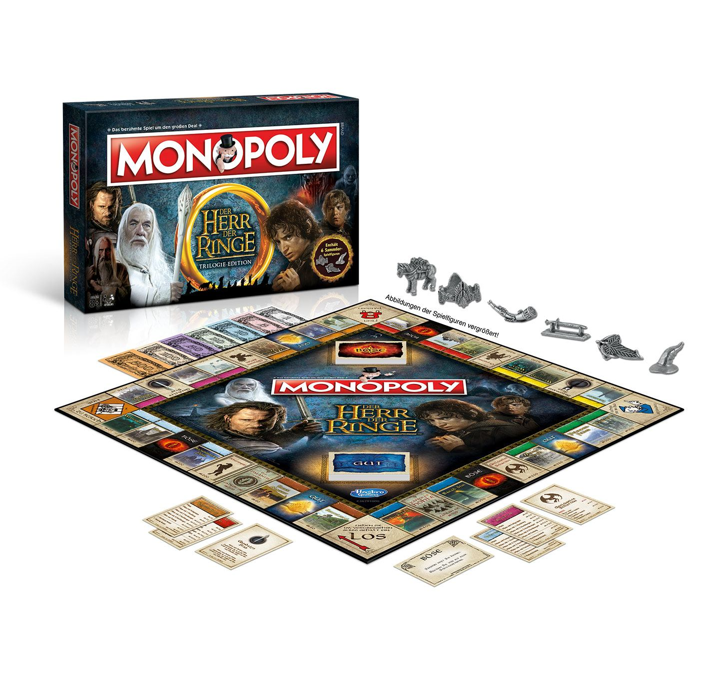 Lord of the Rings Board Game Monopoly *German Version*