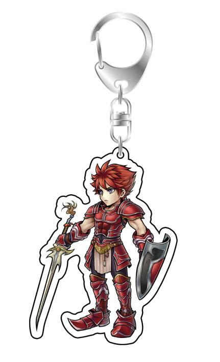 Dissidia Final Fantasy Acrylic Keychain Warrior of Light