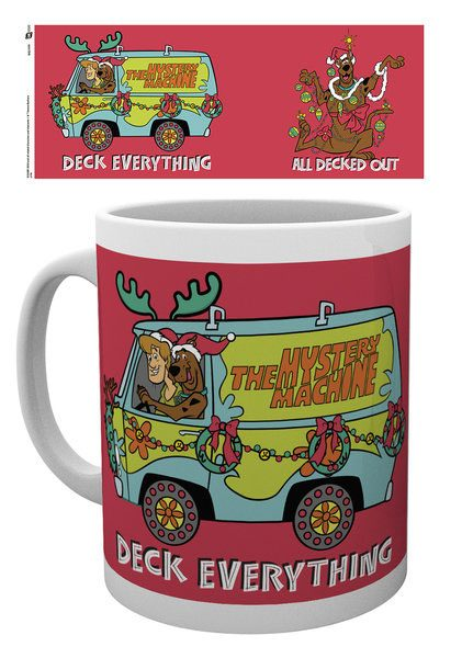 Scooby Doo Mug XMAS Deck Everything