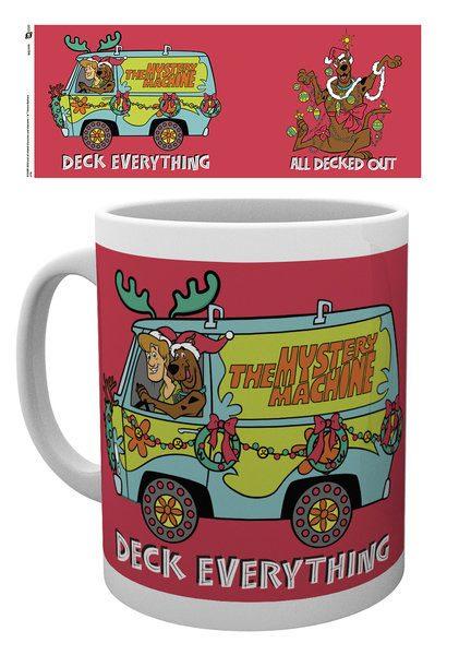 Scooby Doo Mug XMAS Deck Everything