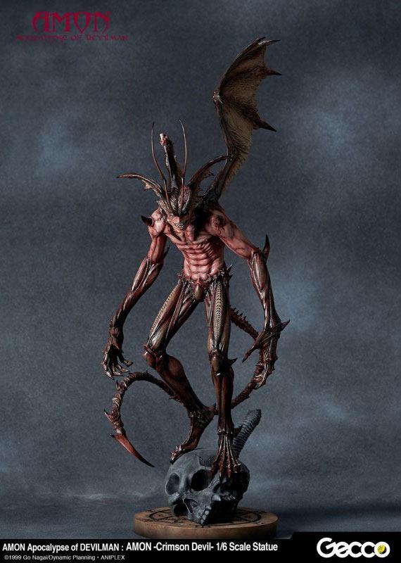 Amon The Apocalypse of Devilman Statue 1/6 Amon Crimson Devil 46 cm