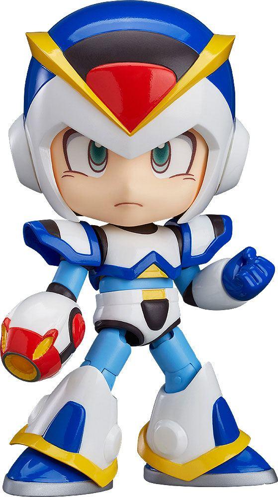 Mega Man X Nendoroid Action Figure Maverick Hunter X Full Armor 10 cm