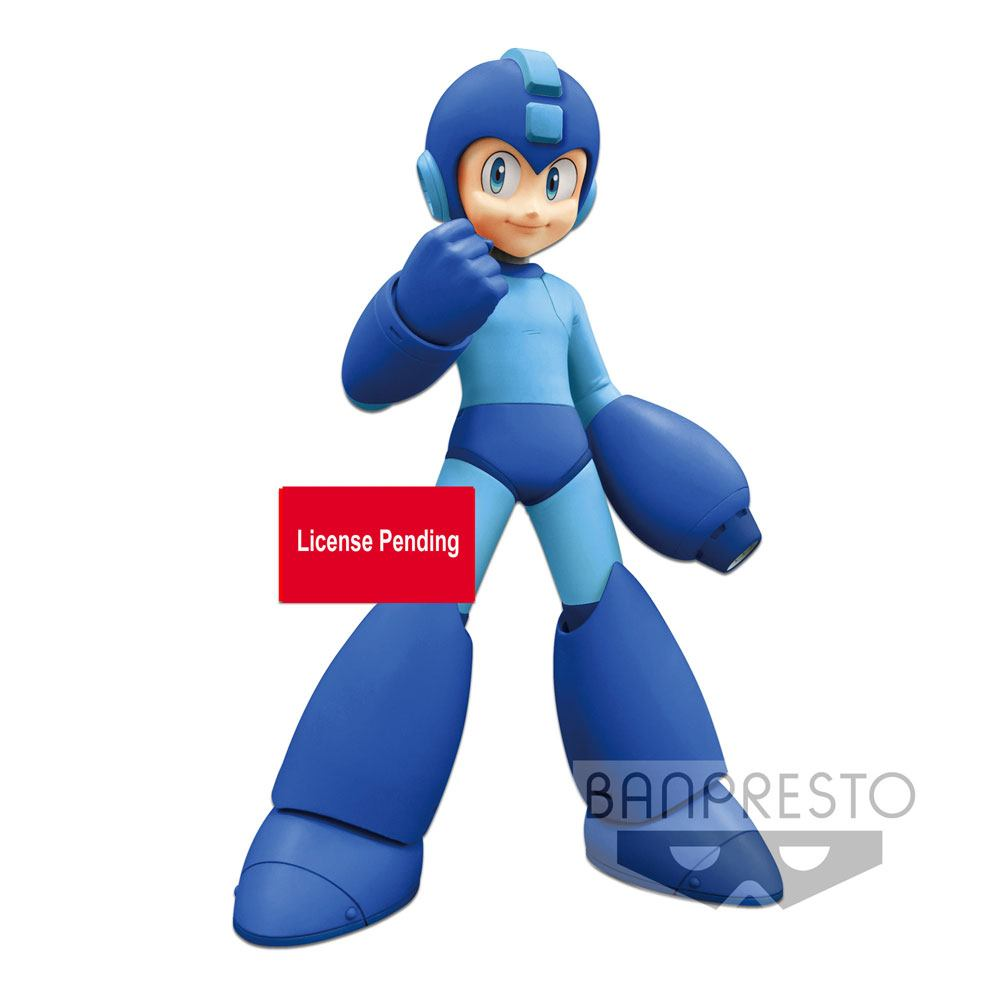 Mega Man Grandista PVC Statue Mega Man Exclusive Lines 23 cm