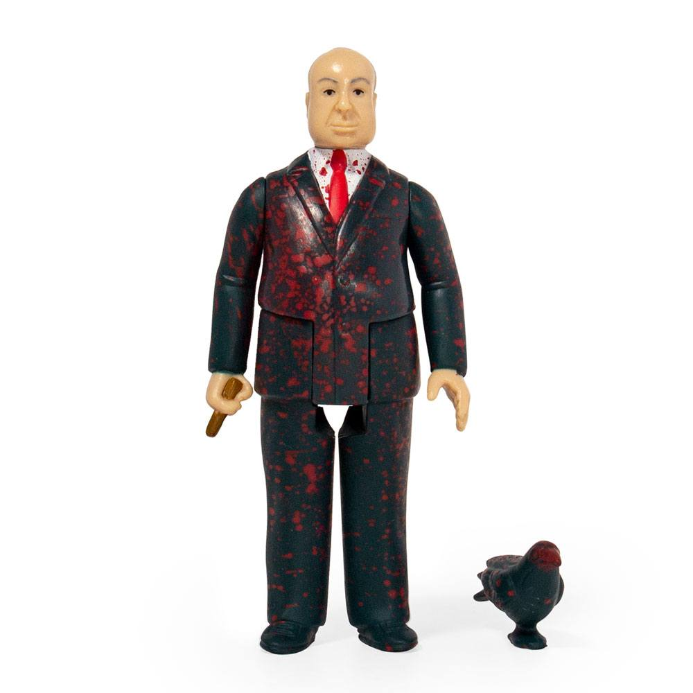 Alfred Hitchcock ReAction Action Figure Hitchcock Blood Splatter 10 cm