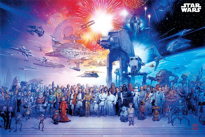 Star Wars Poster Pack Universe 61 x 91 cm (5)