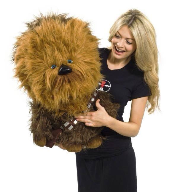 Star Wars Super Deluxe Talking Plush Figure Chewbacca 61 cm *English Version*