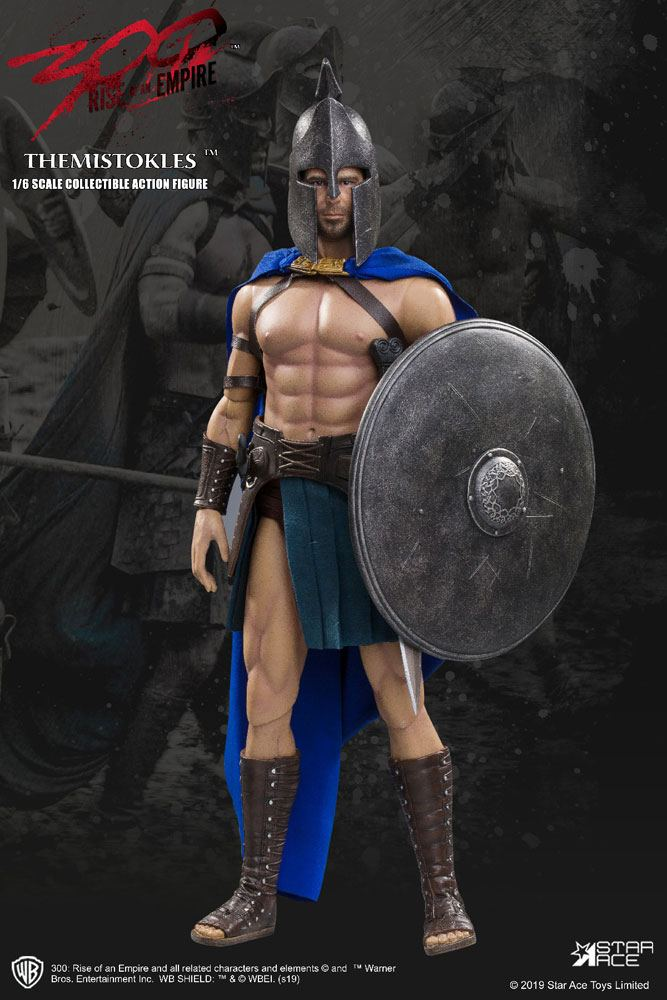 300 Rise of an Empire My Favourite Movie Action Figure 1/6 General Themistokles 2.0 30 cm