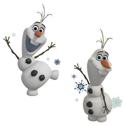 Frozen Wall Decor Olaf