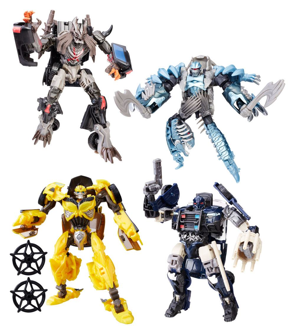 Transformers The Last Knight Premier Edition Deluxe Action Figures 13 cm 2017 Wave 1 Assortment (8)