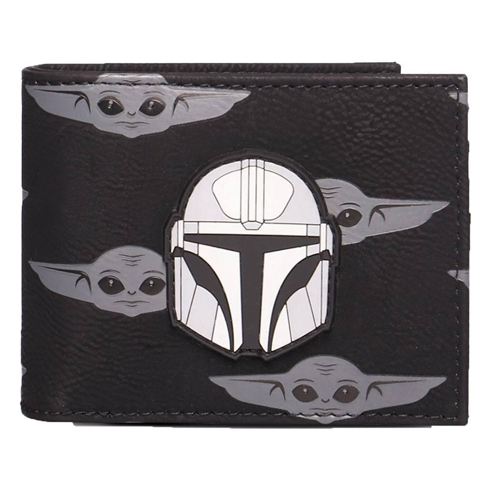Star Wars: The Mandalorian Bifold Wallet Helmet
