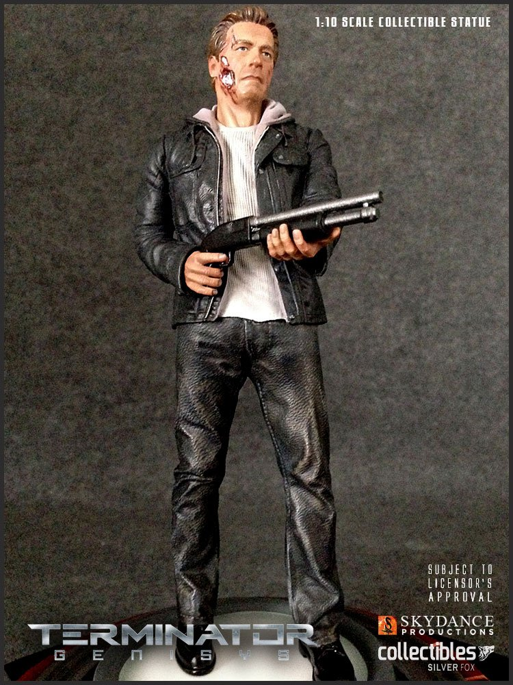 Terminator Genisys Statue 1/10 T-800 Guardian 27 cm