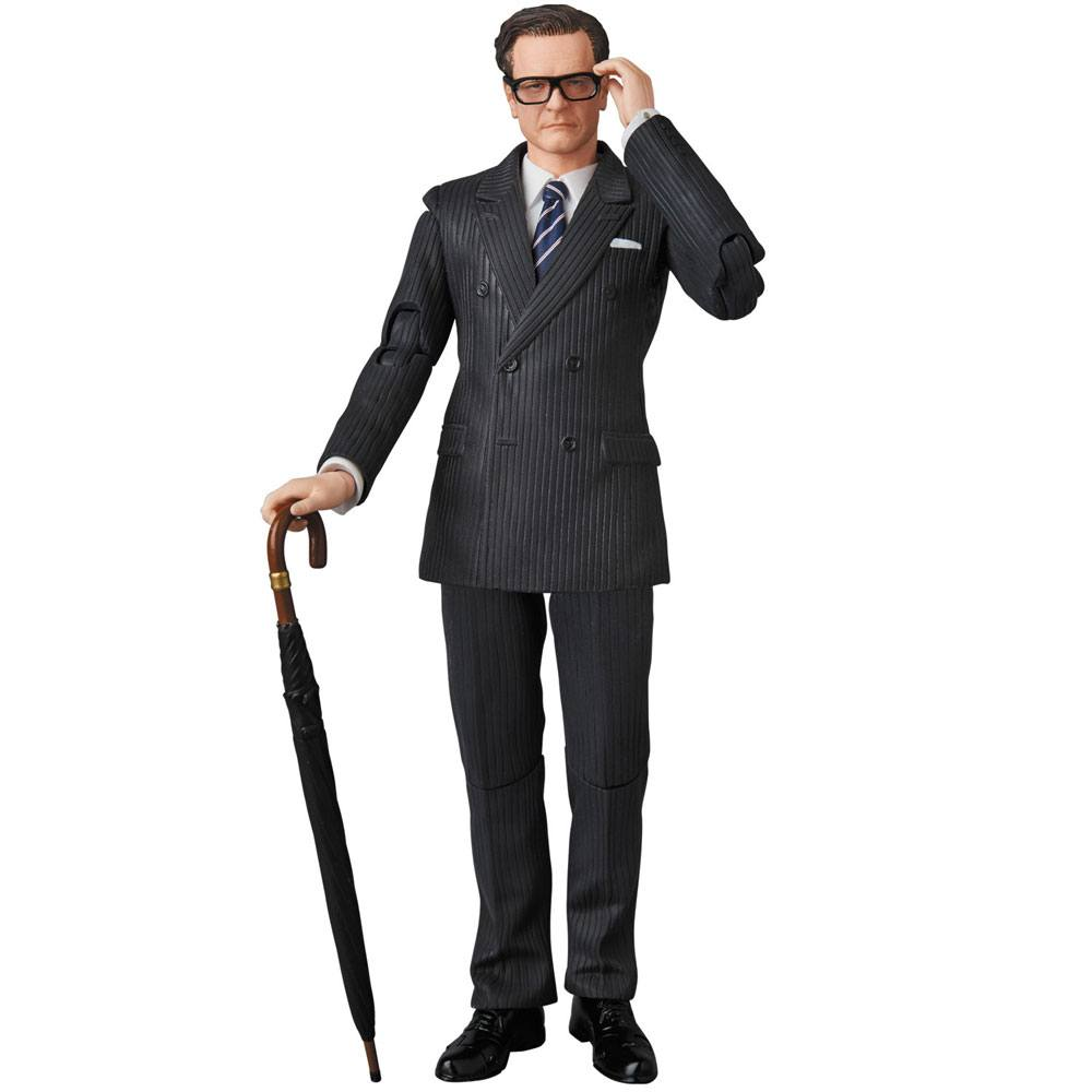 Kingsman The Secret Service MAF EX Action Figure Harry Galahad Hart 16 cm