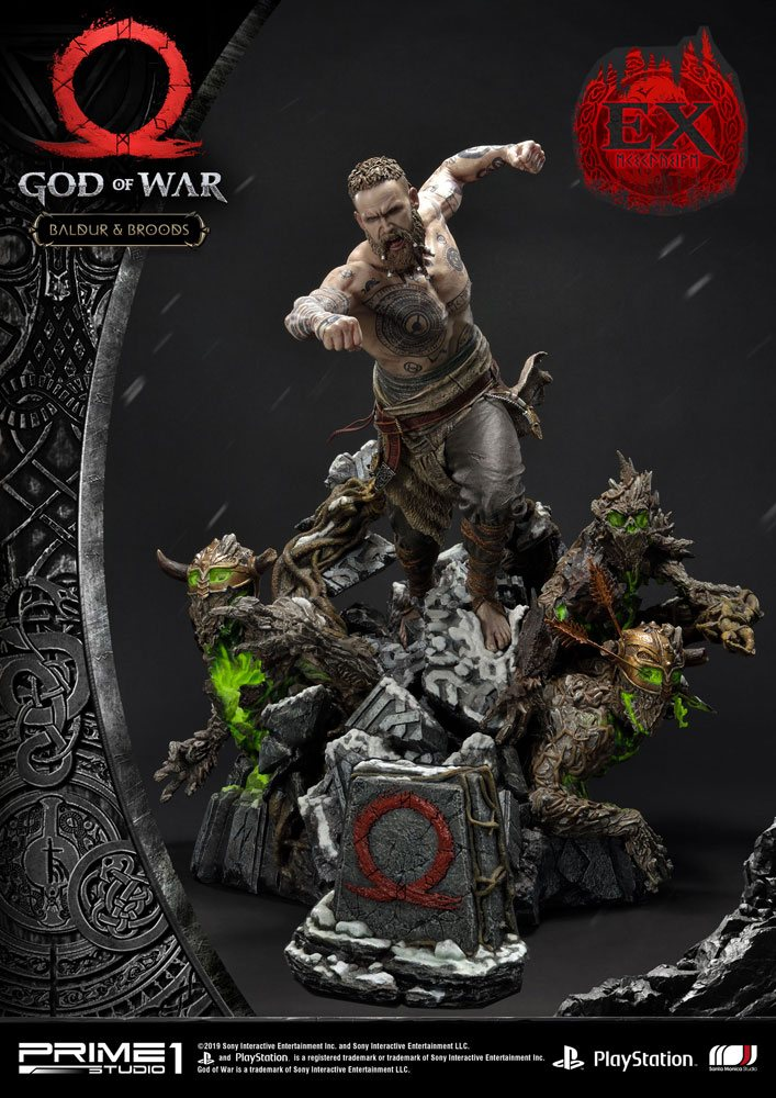 God of War (2018) Statues Baldur & Broods + Baldur & Broods Exclusive 62 cm Assortment (3)