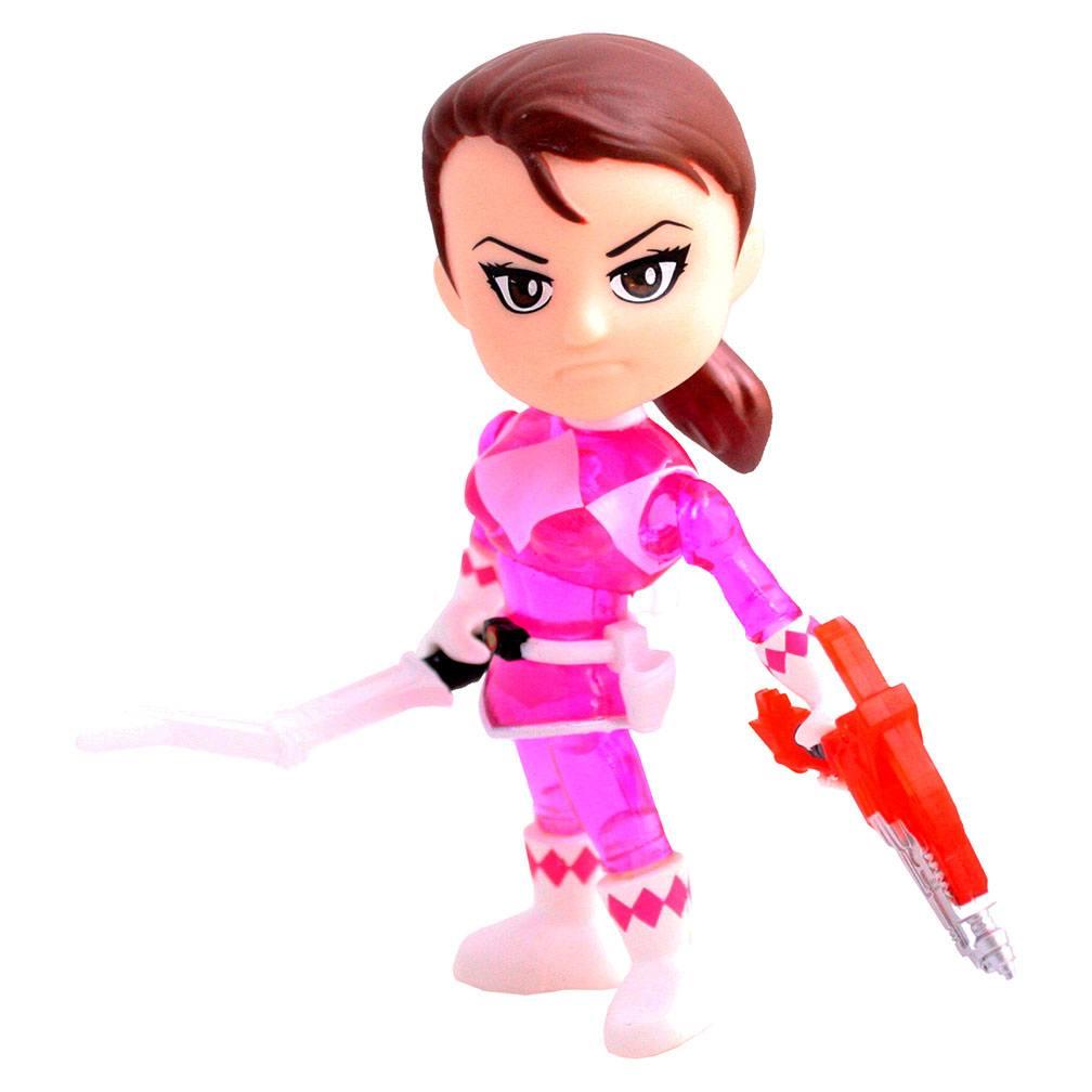 Mighty Morphin Power Rangers Action Vinyl Figure Pink Ranger Crystal 8 cm