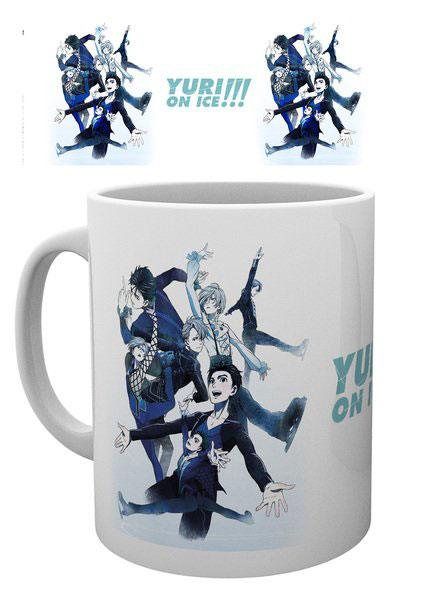 Yuri!!! on Ice Mug Key Art