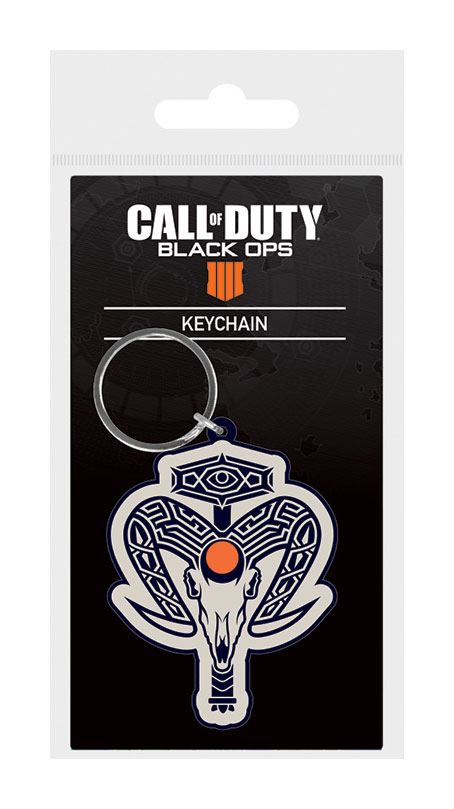 Call of Duty Black Ops 4 Rubber Keychain Ruin Icon 6 cm