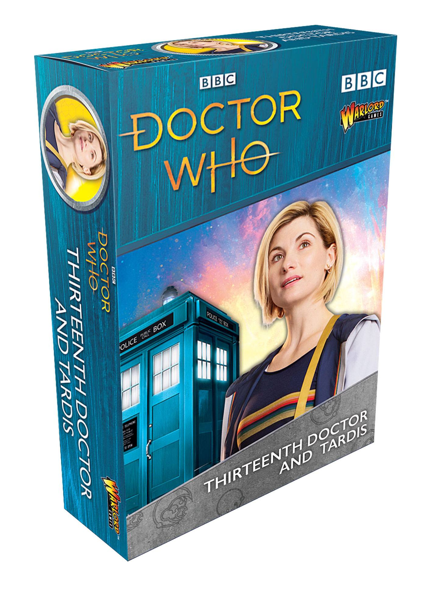 Doctor Who Exterminate! Expansion 13th Doctor and Tardis *English Version*