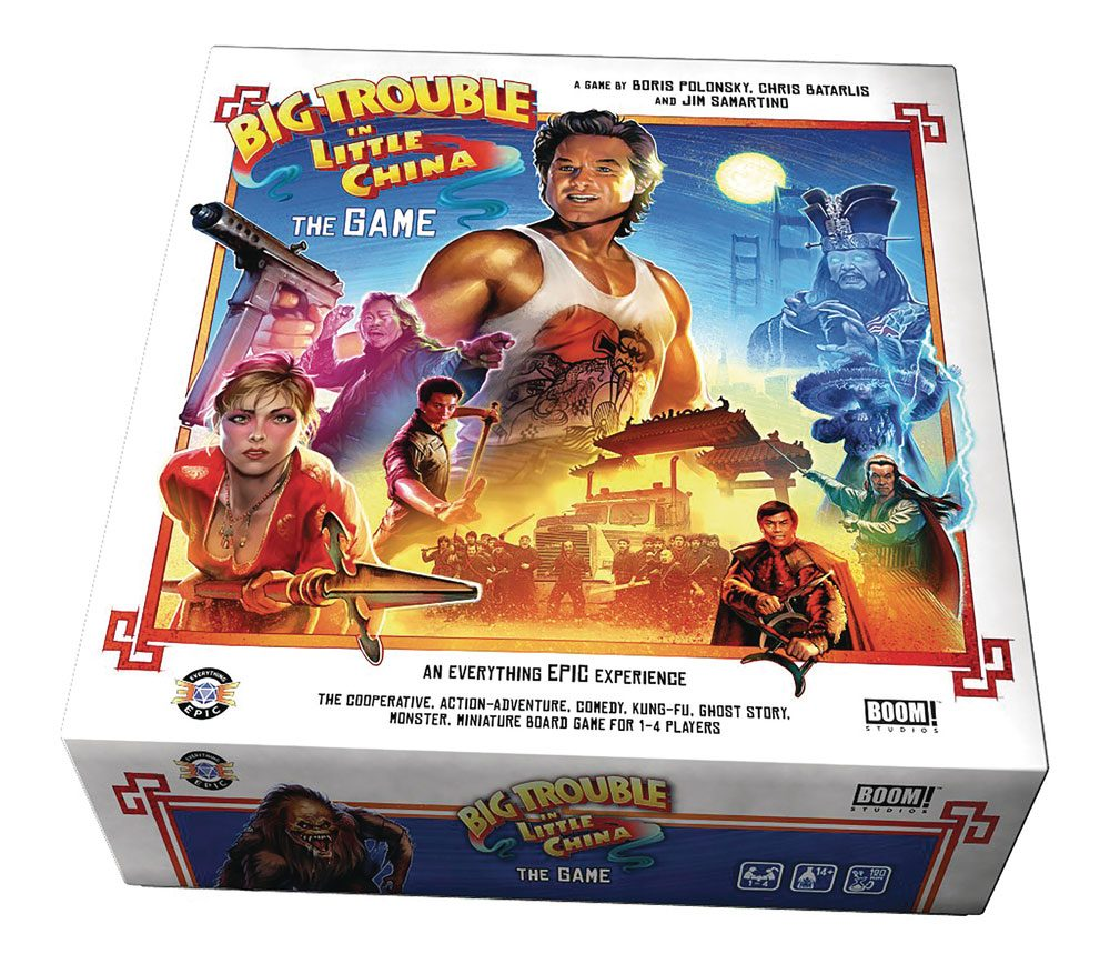 Big Trouble in Little China Board Game *English Version*
