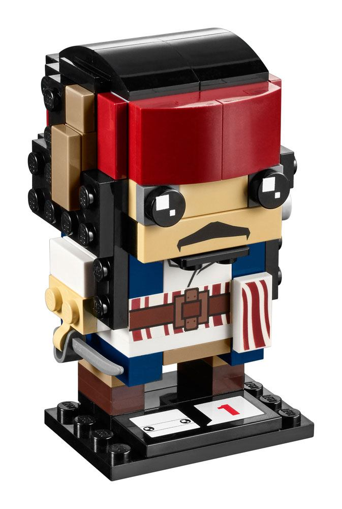 LEGO® BrickHeadz Pirates of the Caribbean Dead Men Tell No Tales Captain Jack Sparrow