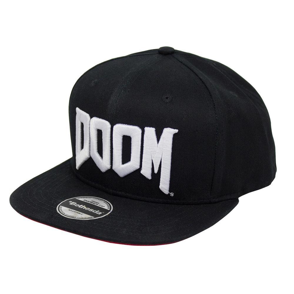 Doom Snapback Cap Logo